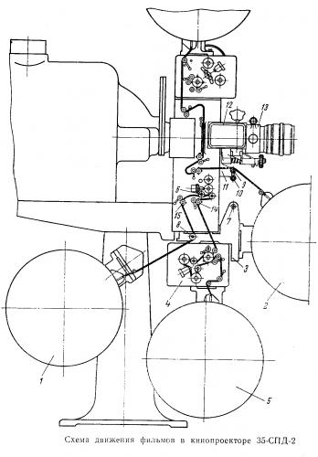 Схема зарядки кинопроектор 35-СПД-2