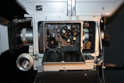 Кинокамера 70-СК лентопротяжный тракт