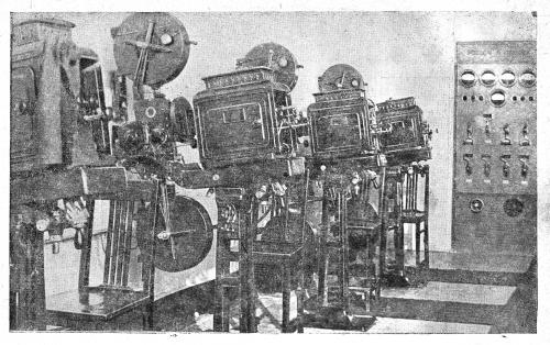 Киноаппаратная кт Великан Спб аппараты ТОМП 1939 г