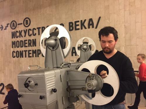 Подготовка киноустановки
