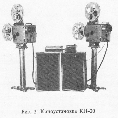 Кинопередвижка КН-20