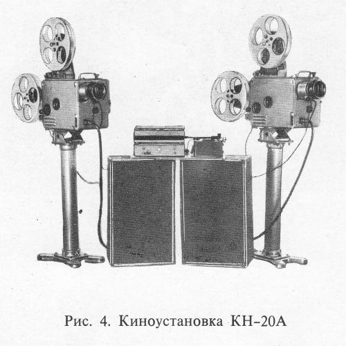 Кинопередвижка КН-20А
