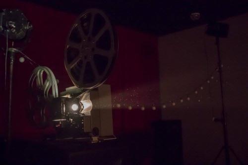 проекция с 16 мм пленки
