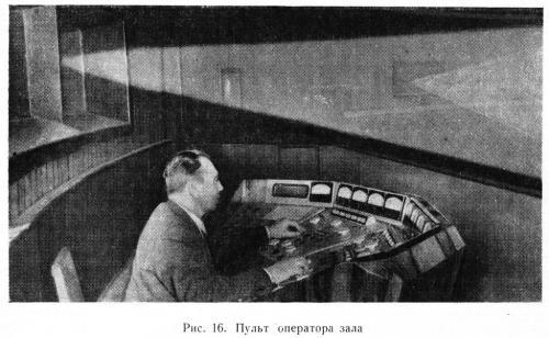рис 16 Пульт оператора зала
