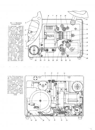 Схема кинопроектора