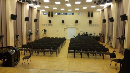 Зал перед началом
